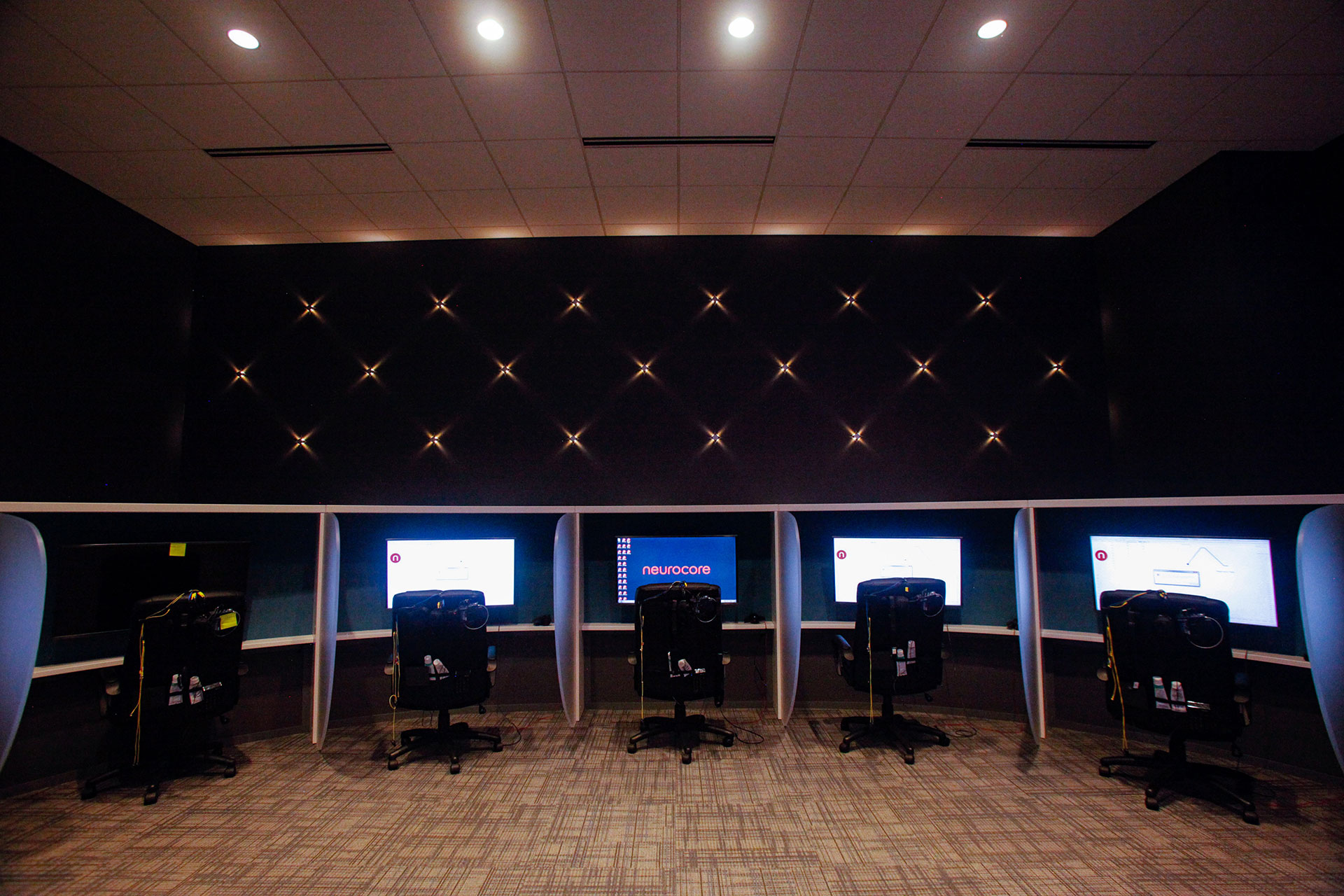 Custom installation of owner-supplied equipment and office furniture.